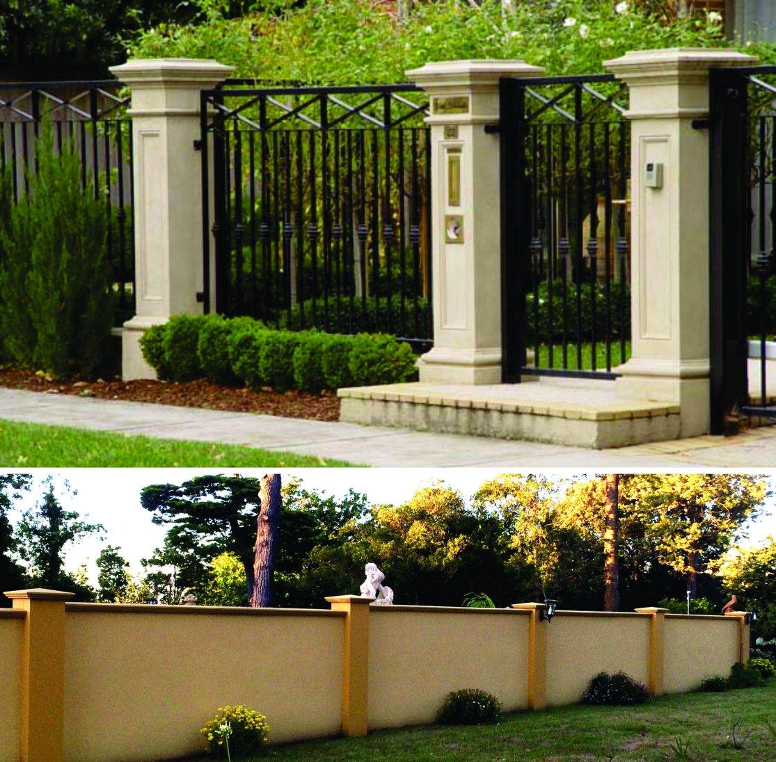 Gate Pillars Driveway Entrance